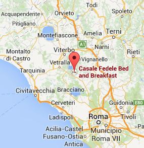 Thermal Sites in Viterbo and Vetralla Casale Fedele BB in Tuscia
