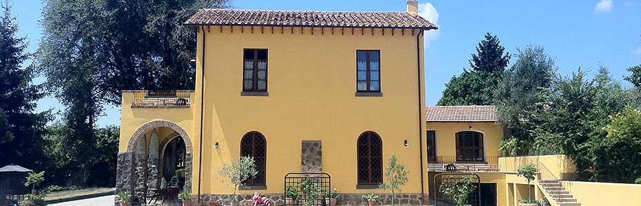 Country House B&B in Ronciglione, Viterbo, Lazio, Italy